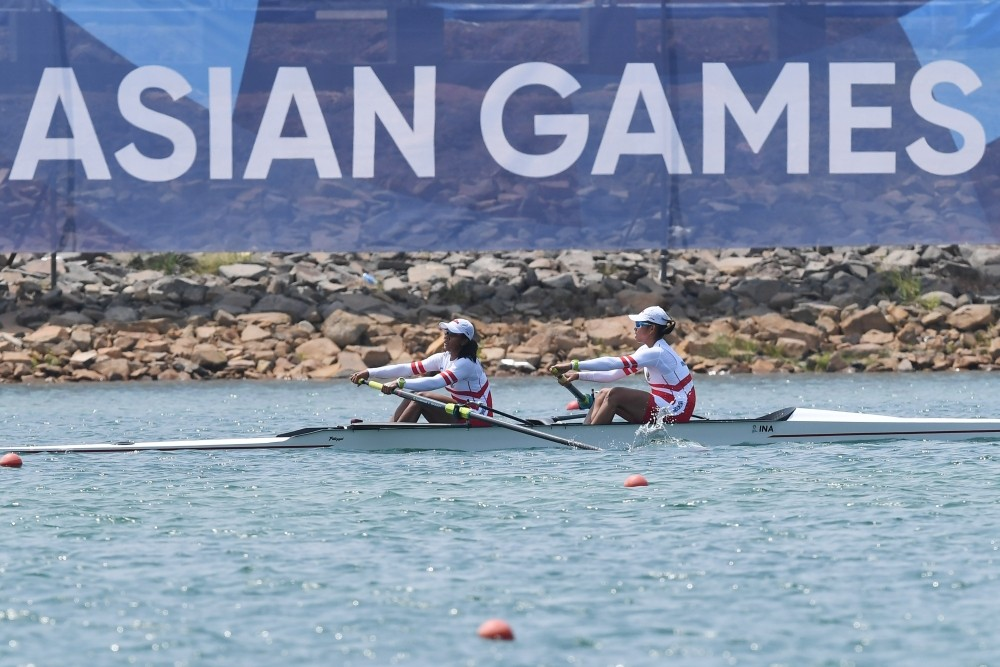 Asian Games: Indonesia goes to final in women's pair rowing