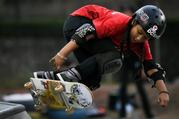 Indonesia's teeny skateboard hope too cool for school