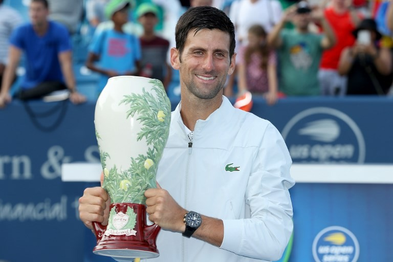 Djokovic wins Cincy title to complete Masters matched set