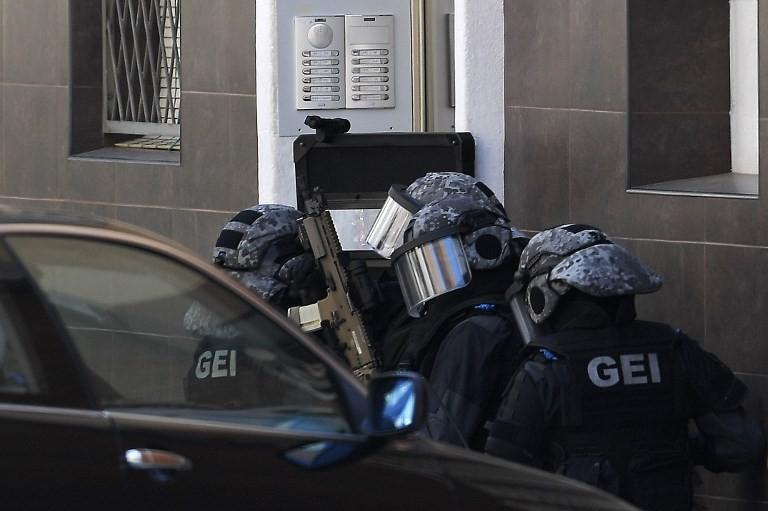 Spanish police kill knife attacker shouting Islamic slogan