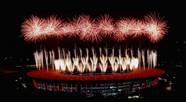 Jokowi opens Asian Games in dazzling ceremony