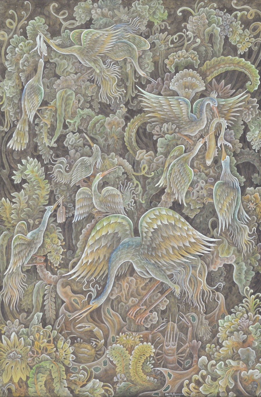 'Burung-Burung Bangau' by Dewa Ketut Rungun
