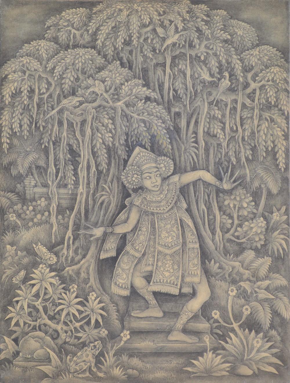 'Taris Bali' by Ida Bagus Made Poleng