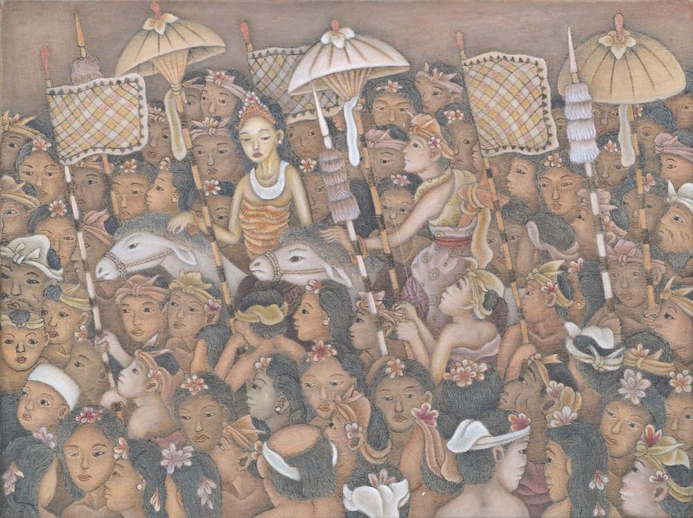 'Iringan Pengantin' by Dewa Putu Mokoh
