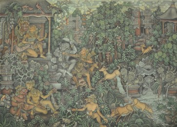 Traditional, contemporary artworks ready for auction in Bali