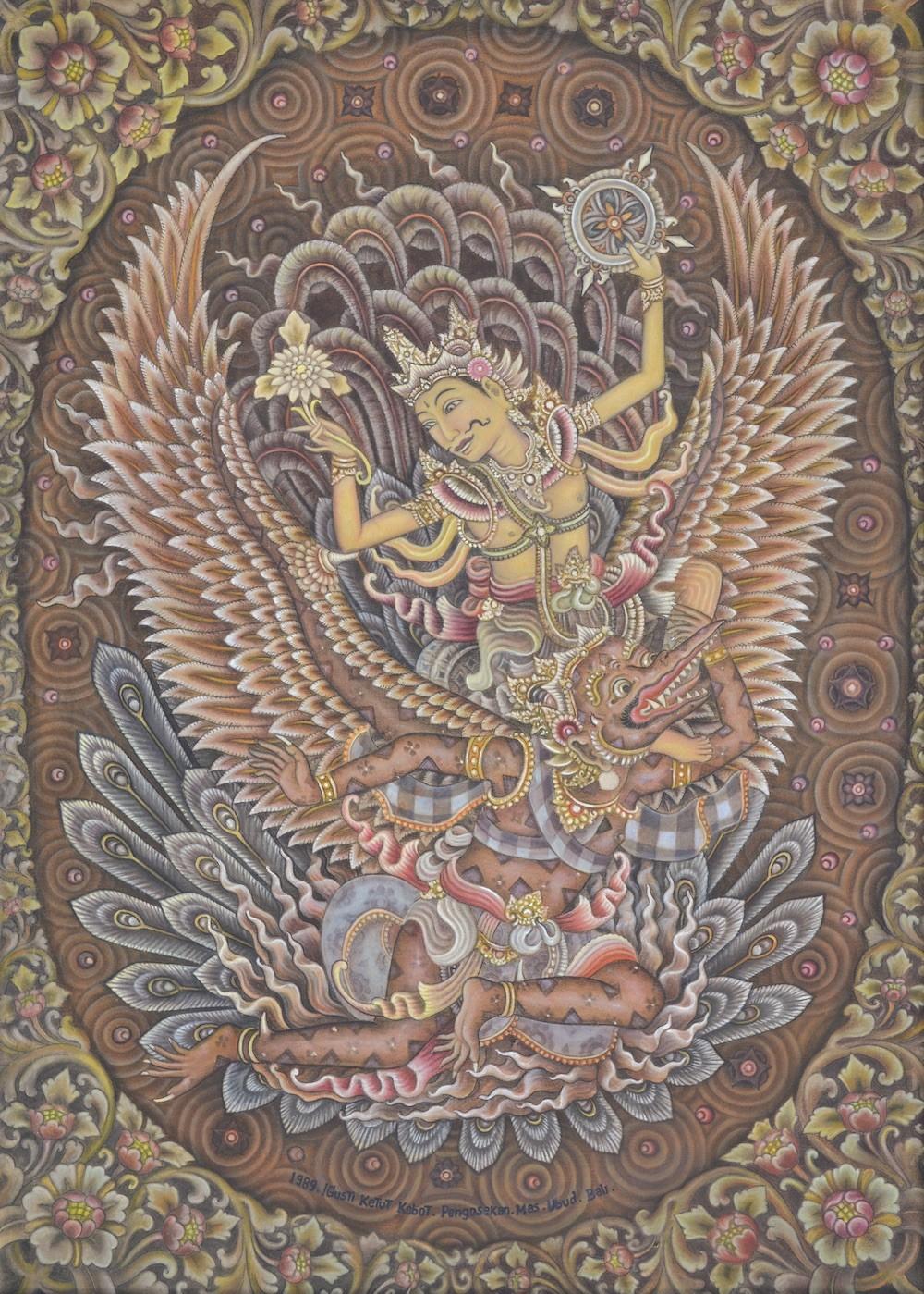 'Garuda Wisnu' by Gusti Ketut Kobot