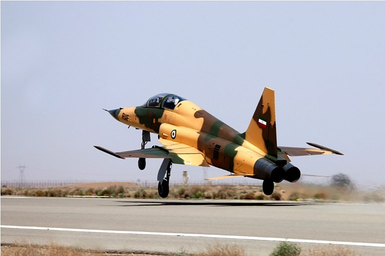 Iran unveils first domestic fighter jet