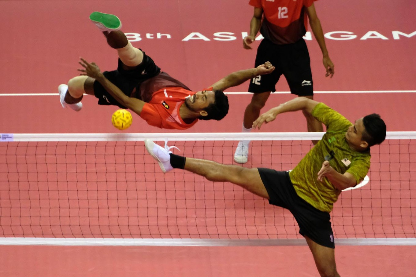 RI's men sepak takraw team wins bronze, first medal from Palembang