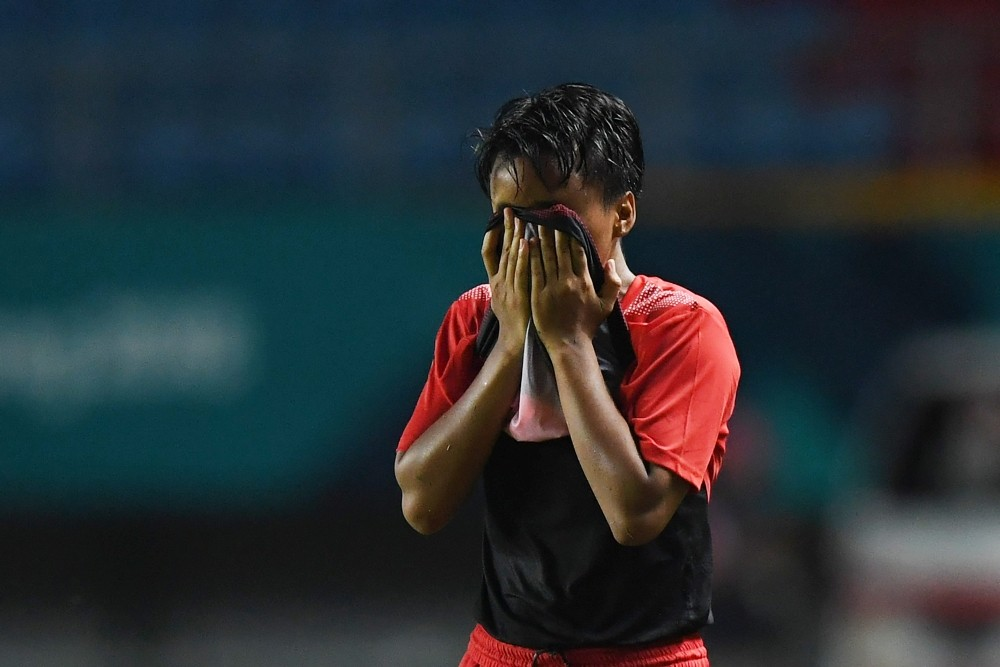 Asian Games: S. Korea women's soccer team thrashes Indonesia out