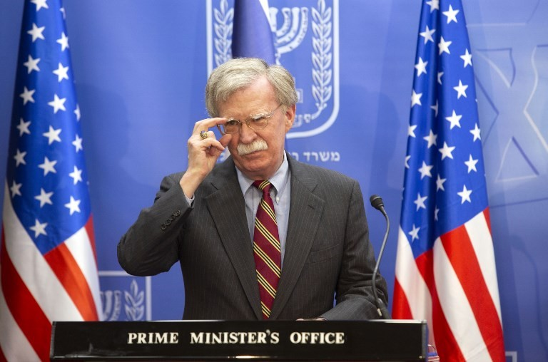 Pompeo denounces 'lies' by 'traitor' Bolton