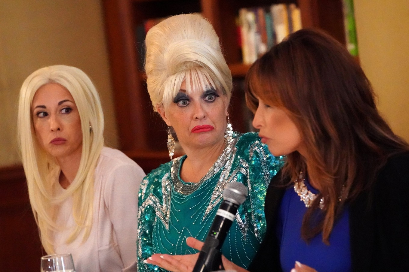 Fake Trump family riffs on real news in musical spoof