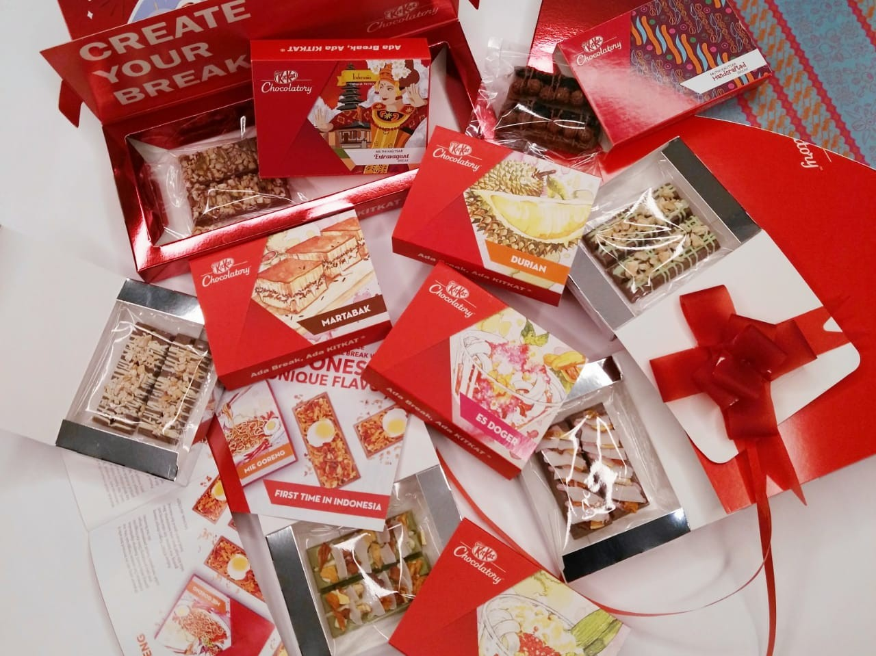 KitKat offers special-edition Indonesian flavors