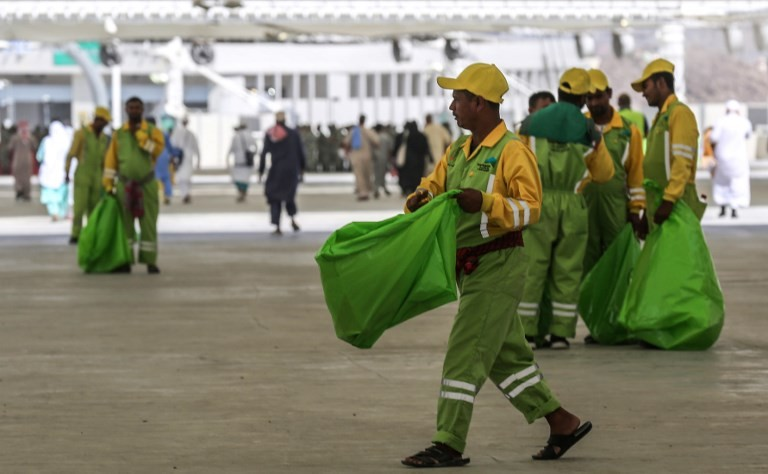 'Green haj' slowly takes root in Mecca