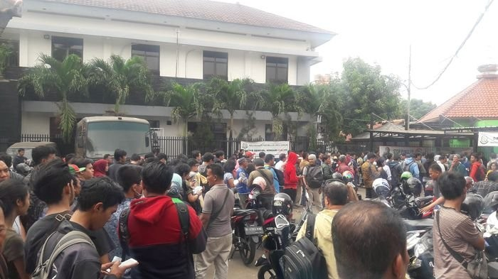 East Jakarta Prosecutor's Office overwhelmed by odd-even policy cases