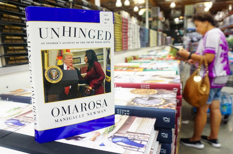 Omarosa's 'Unhinged' settles for No. 2 spot on US best-seller list