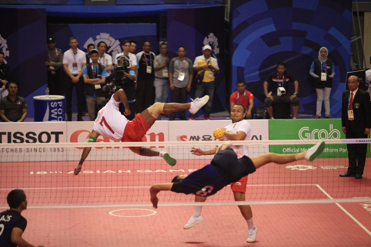 Asian Games: Laos stops Indonesia in sepak takraw semifinals