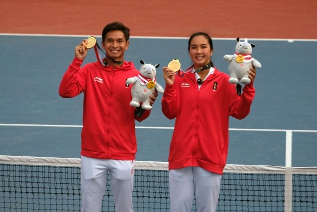Asian Games: Indonesia ends title drought, wins gold in tennis mixed doubles
