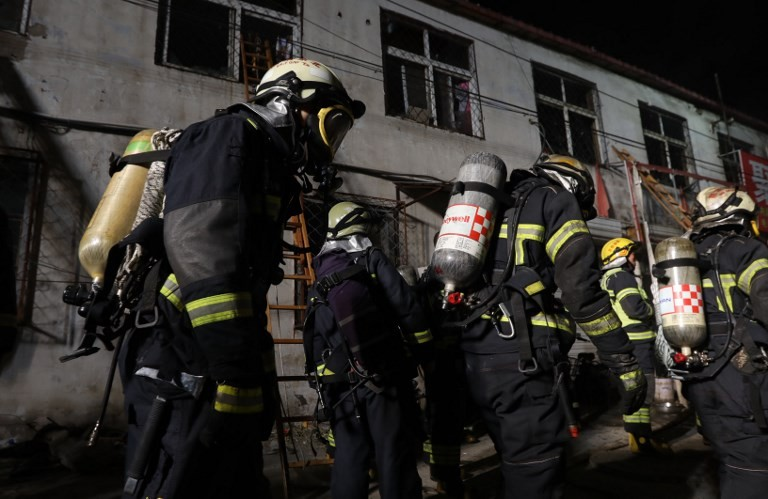 19 dead in fire at China hot springs hotel
