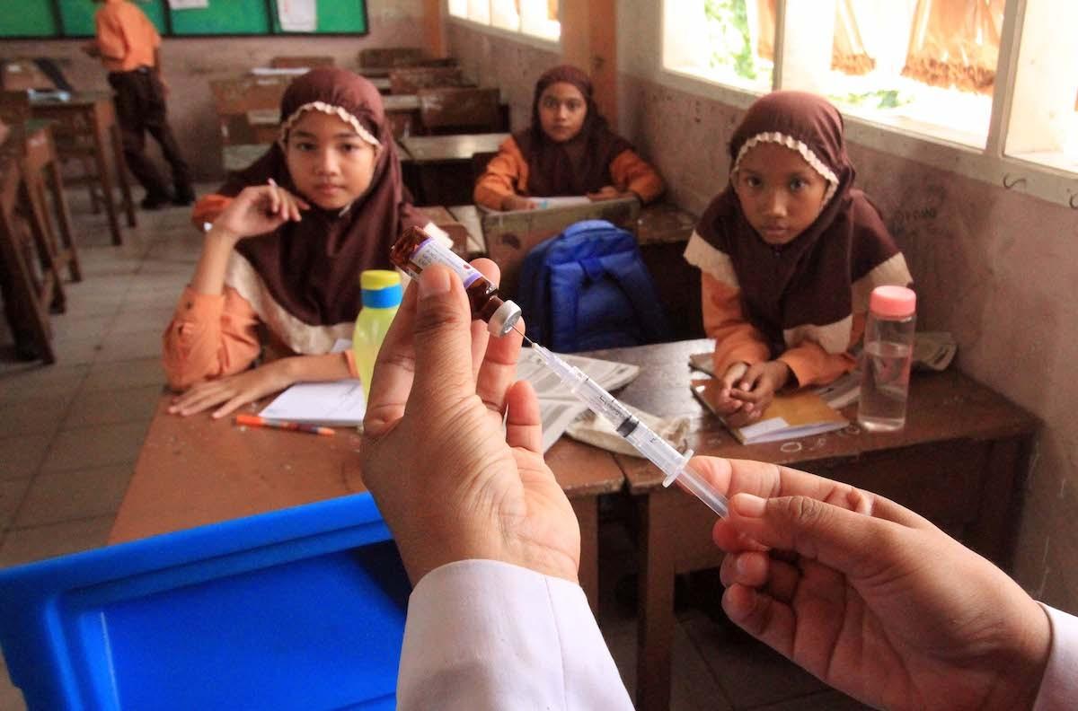 MUI edict hinders MR immunization drive in Pekanbaru, Riau Islands