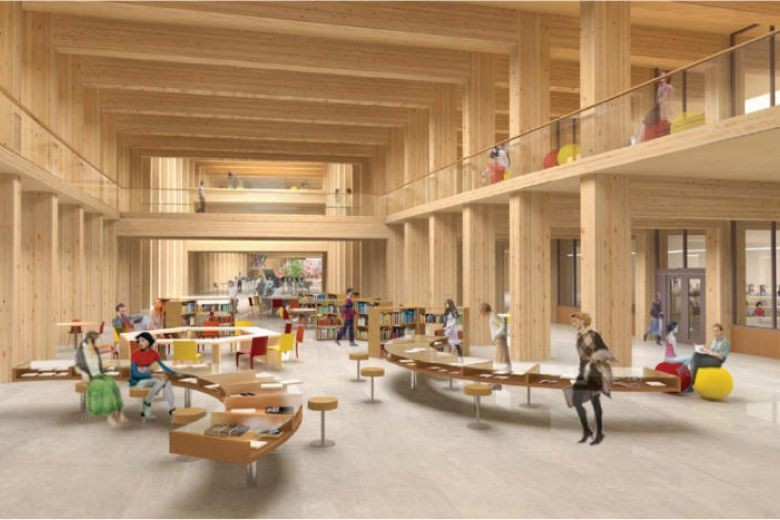 NTU's new $180m business school to be Asia's largest wooden building