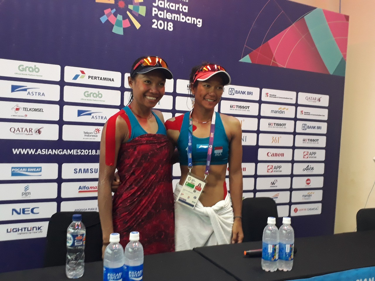 Asian Games: Indonesia takes bronze in women's beach volleyball