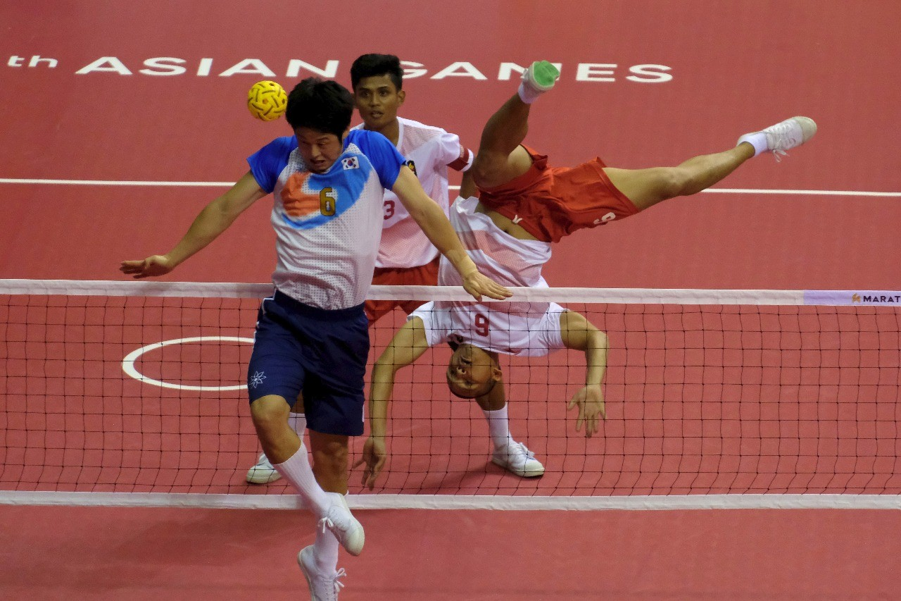 Asian Games: Indonesia reaches sepak takraw final