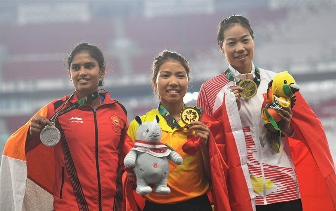 Asian Games:Thảo wins historic gold medal