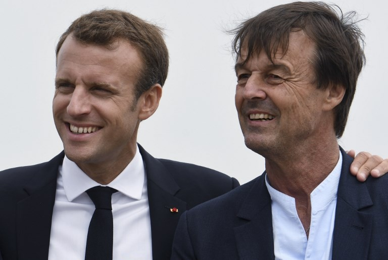 Blow for Macron as star minister quits