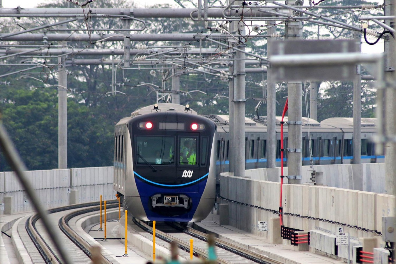 Construction on MRT's Sarinah-Kampung Bandan route to begin in three months