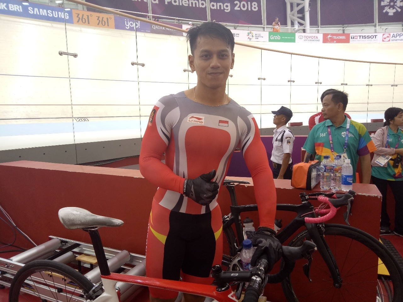 Asian Games: Indonesia loses to China in cycling men's sprint