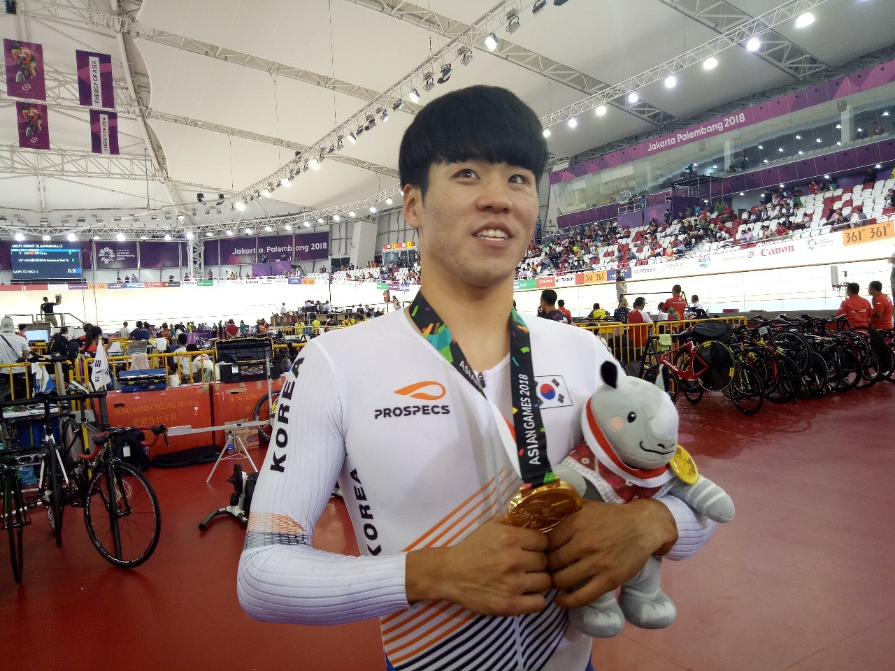 Asian Games: South Korea clinches second track cycling gold medal