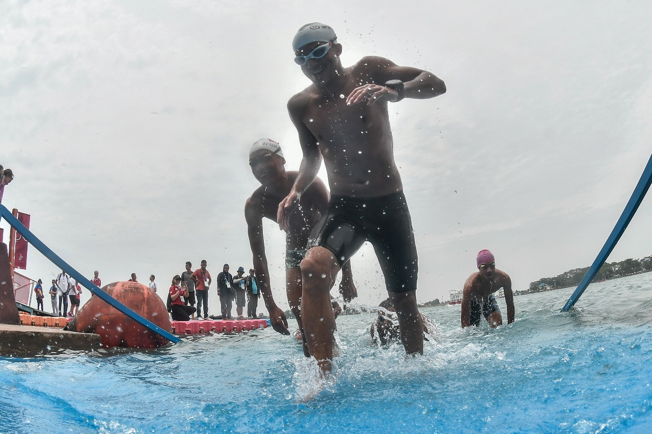 Asian Games: Jakabaring prepares traffic diversion for triathlon routes