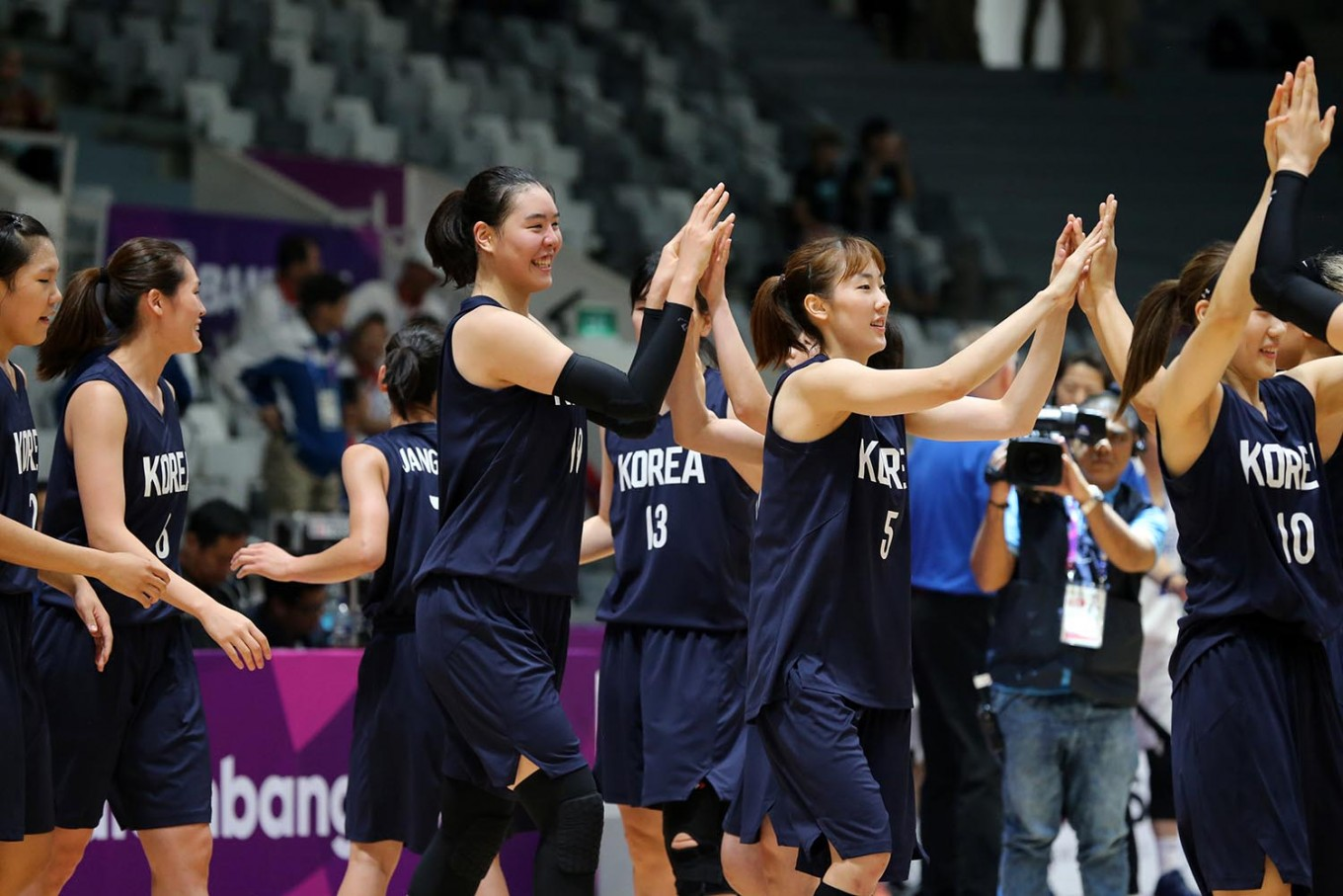 Asian Games: Unified Korea, China vie for women's basketball gold