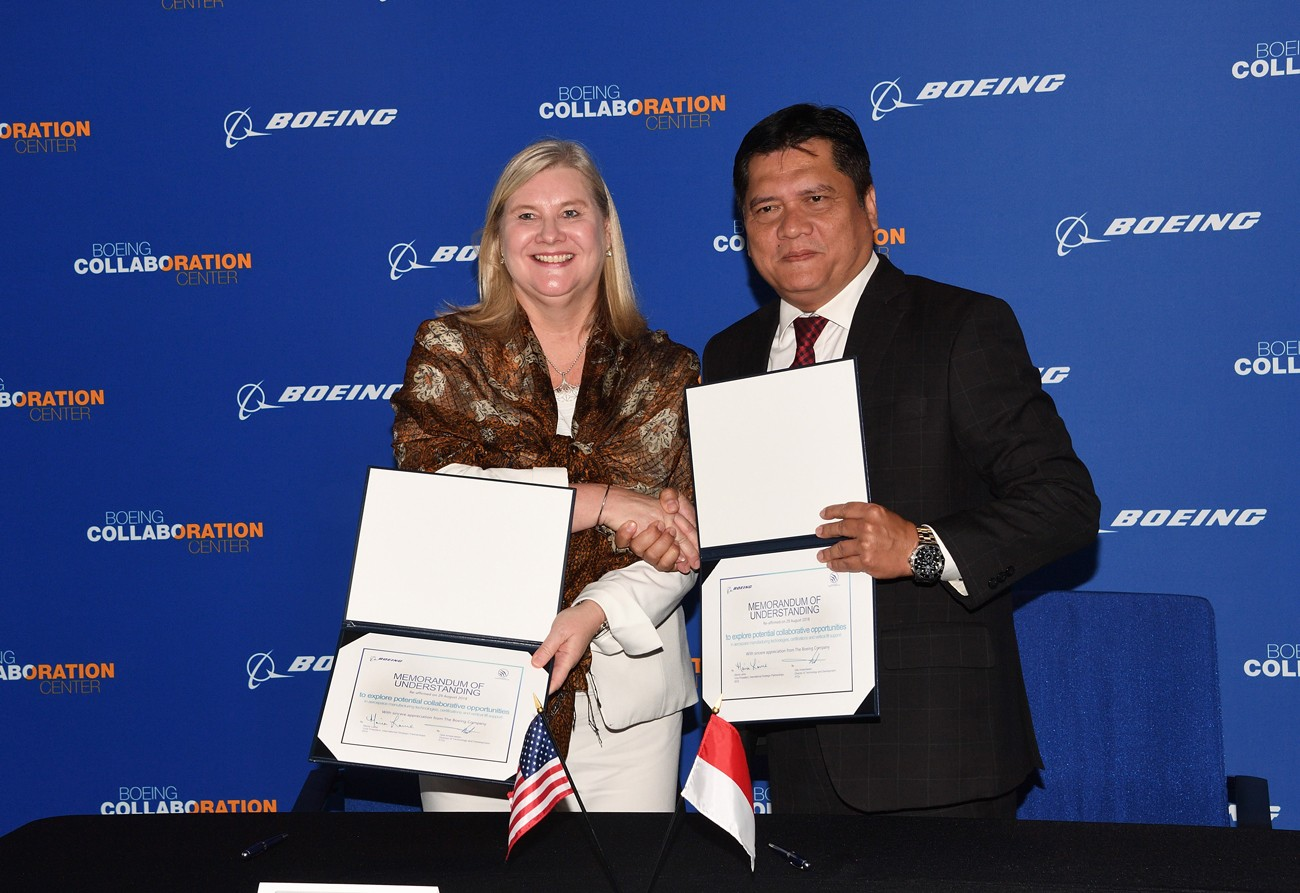 Boeing, PTDI collaborate to enhance aerospace growth