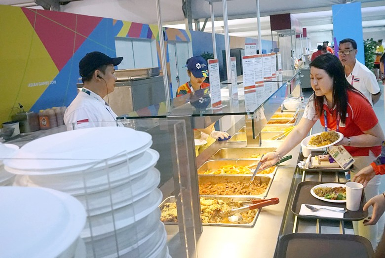 Asian Games: Behind the meals for athletes is a kitchen that never sleeps