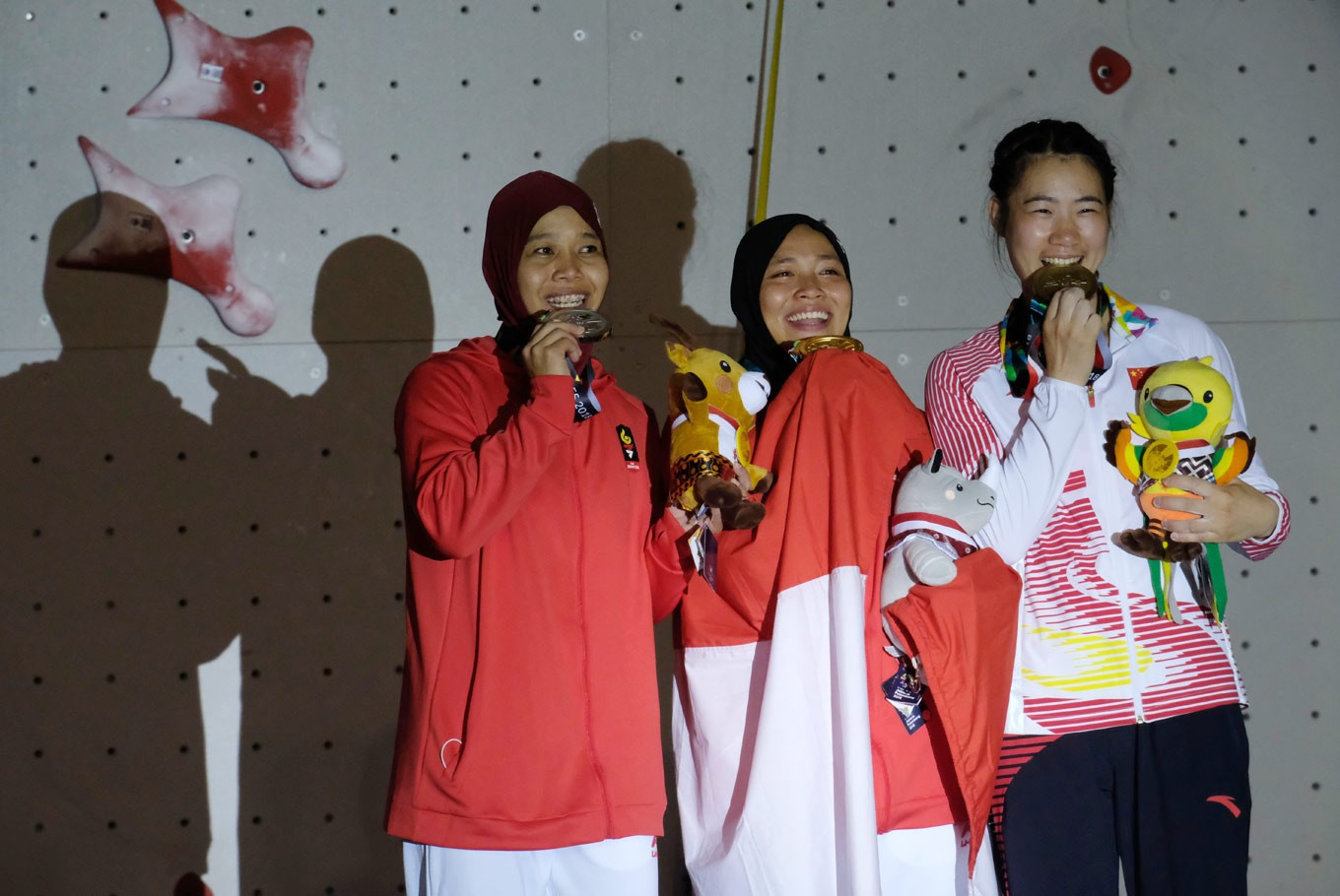 Asian Games: Parents behind Indonesian athletes' medal success