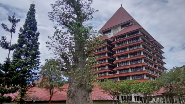 University of Indonesia among top 100 universities in emerging countries
