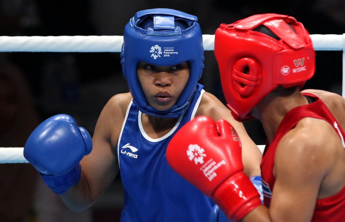Asian Games: Huswatun earns host's first boxing medal