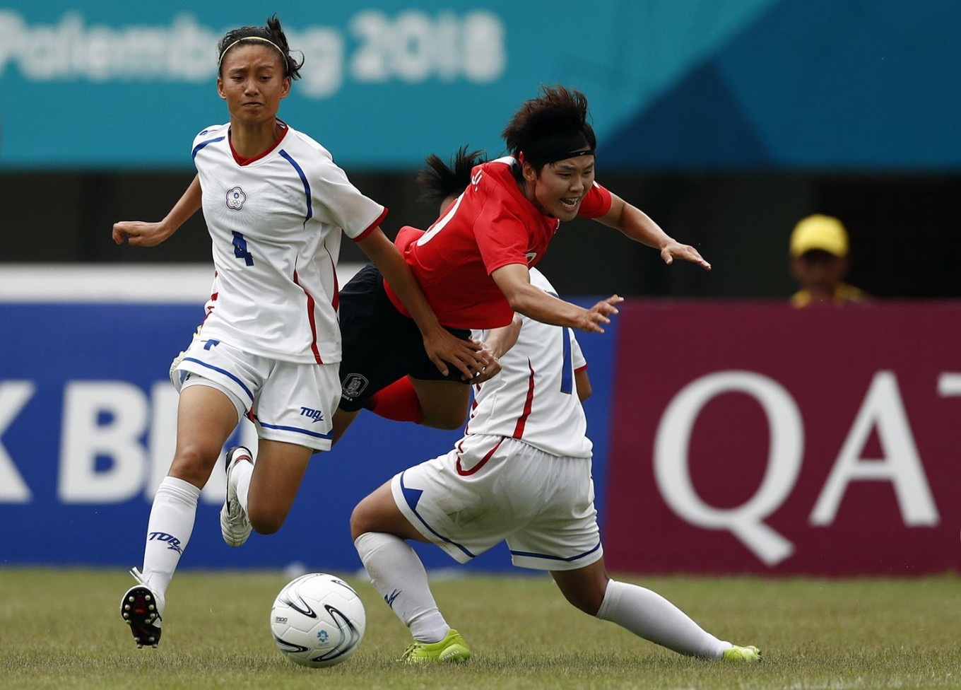 Asian Games: South Korea wins third bronze medal in women's soccer