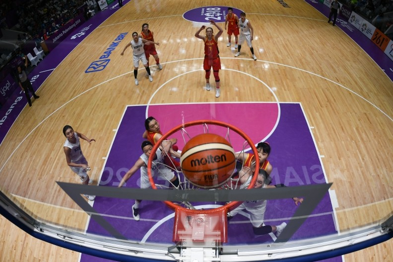 Asian Games: Towering China claims women's basketball gold
