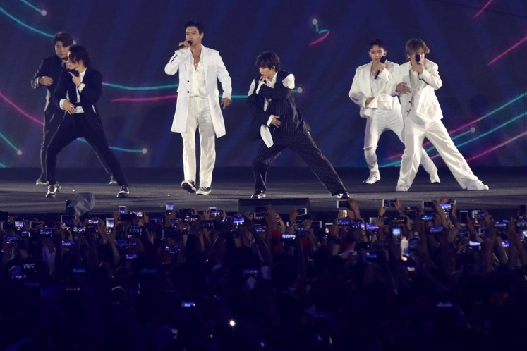 TVXQ, Super Junior film reality show in Yogyakarta