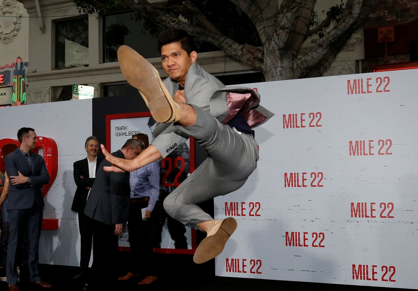 Indonesian silat master Iko Uwais is Hollywood's new action star