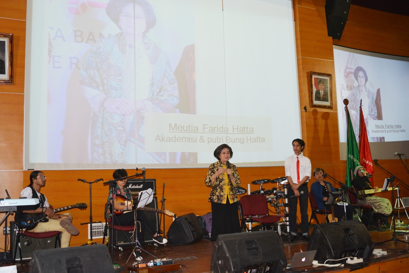 Bung Hatta Anti-Corruption Award tours universities with music, discussions