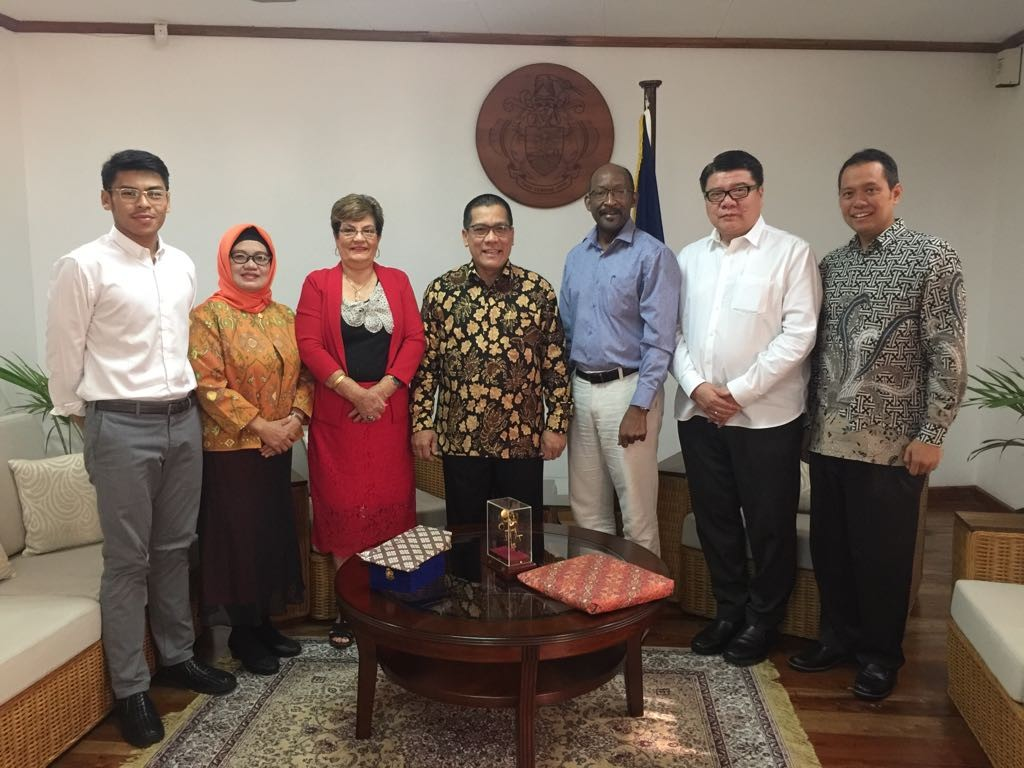 Indonesia to team up with Seychelles on family welfare development