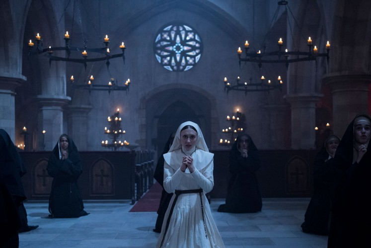 Sister Irene (Taissa Farmiga) in one of the scenes of