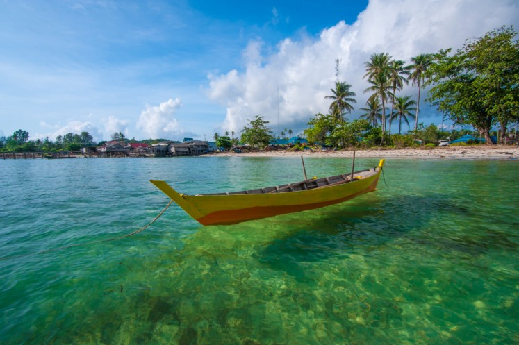 Bintan Island in Tanjung Pinang, Riau Islands.
