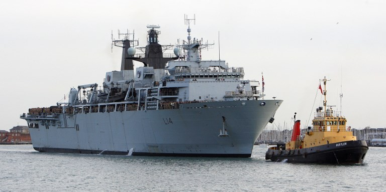 British Navy warship sails near S.China Sea islands, angering Beijing
