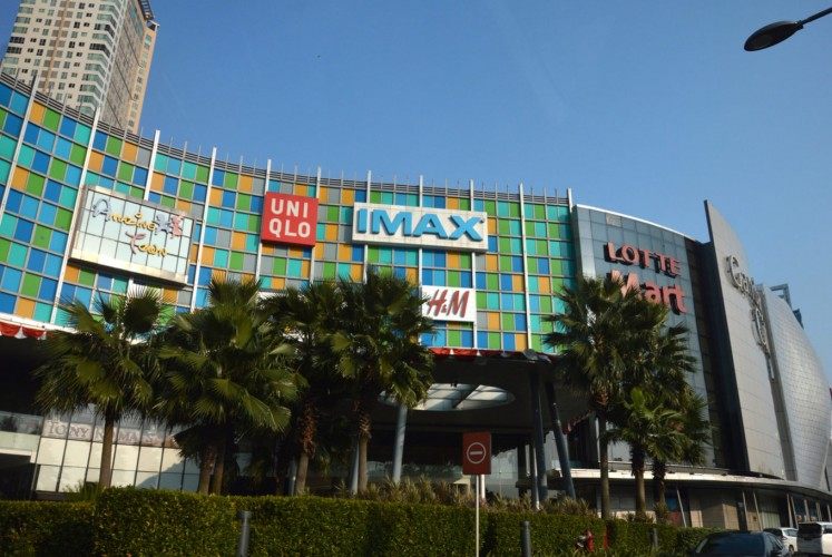 Gandaria City is an upscale mall in South Jakarta.