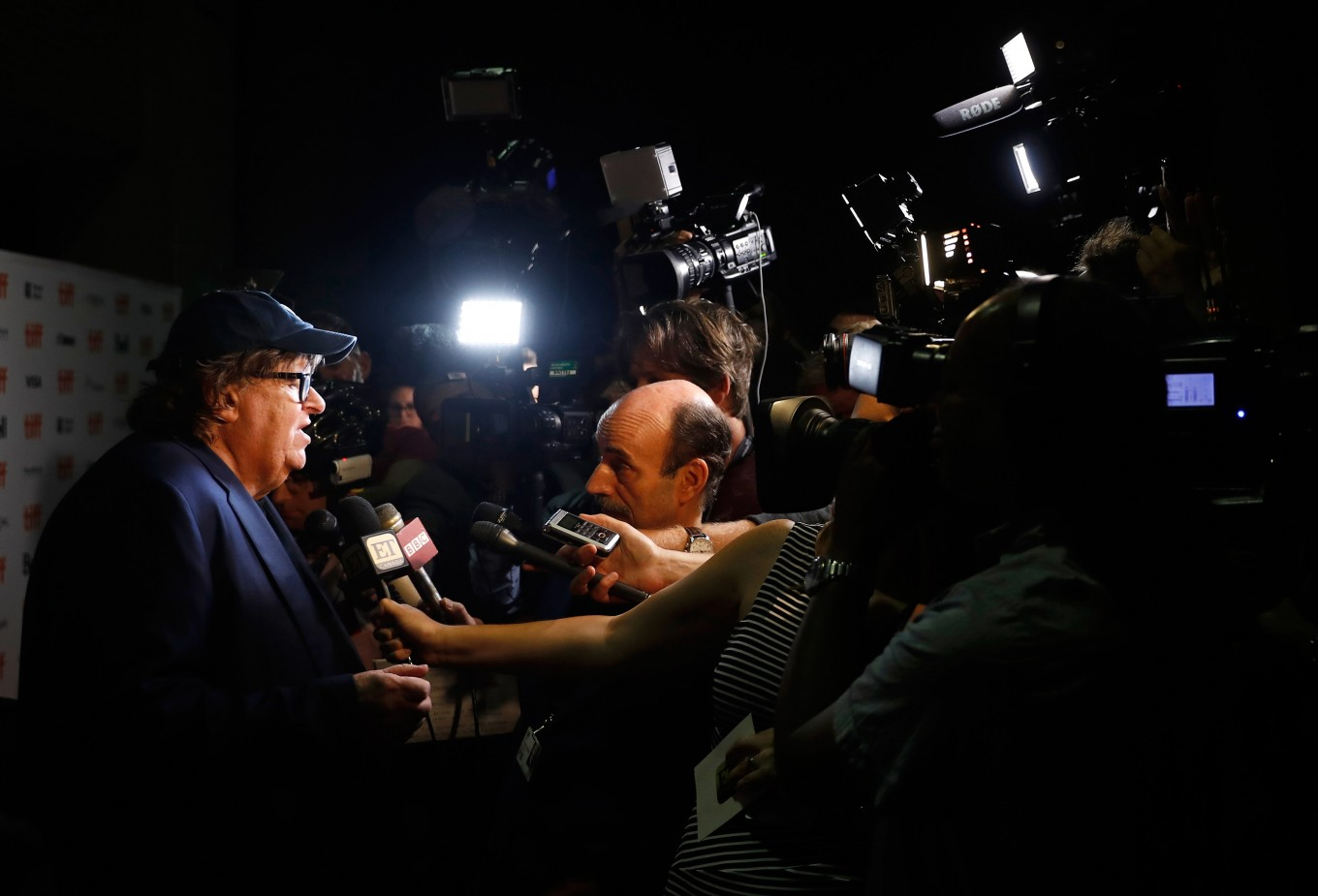 Michael Moore hopes his film is 'beginning of the end' for Trump