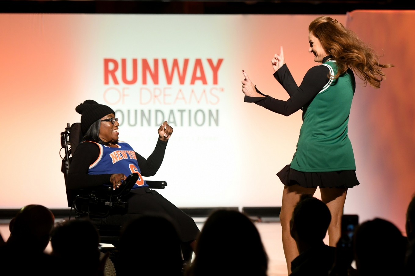 New York fashion show features models, styles addressing special needs
